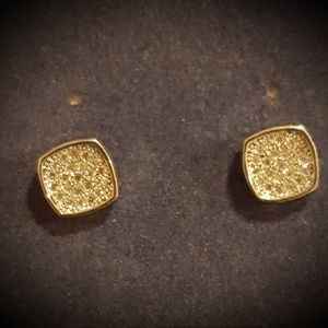 Silver and cz studs